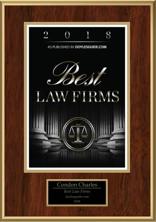 Best Law Firms 2018: Condon Charles